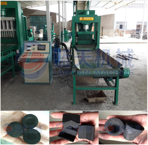 Arab shisha charcoal making machine