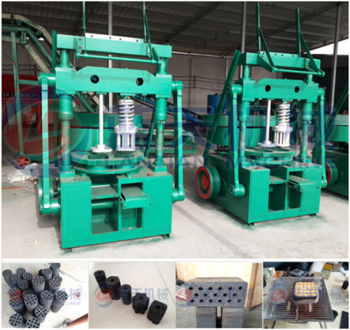 Honeycomb coal briquette machine