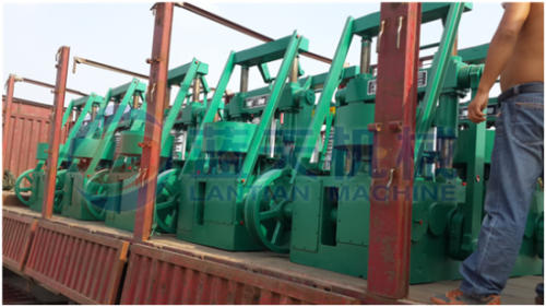 Lignite coal briquette machine