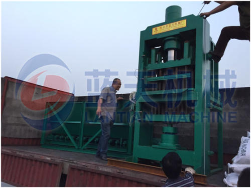 Coconut shell charcoal machine