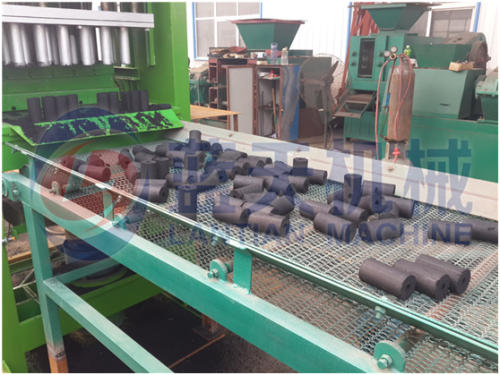 Bamboo charcoal briquette machine