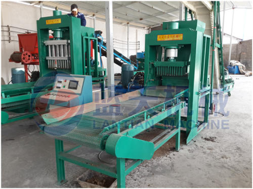 Bamboo charcoal tablet press machine