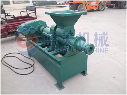 BBQ charcoal extruding machine