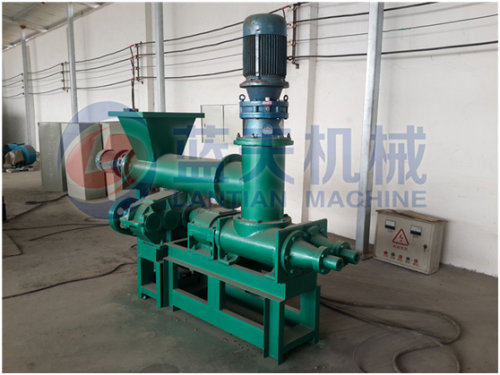 Hookah charcoal extruding machine