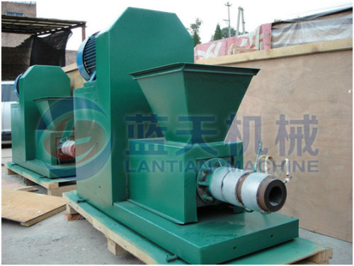 Sugar bagasse charcoal machine