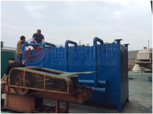 Airflow carbonization furnace