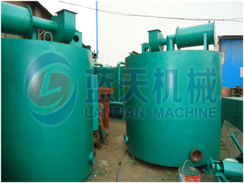 Bamboo carbonization furnace