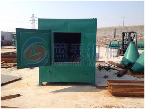 Briquette carbonization furnace