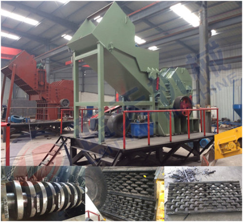 Scrap aluminum crusher