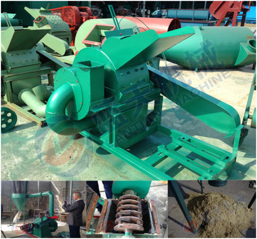 Coconut crusher machine